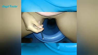 TIK TOK MY BEST PISS IN TOILET