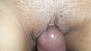 She Cums Really Wet When Rubbing My Dick