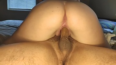 Riding Daddy's Dick