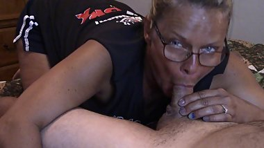 CUM IN MOUTH BJ