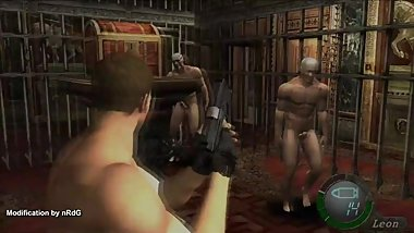 Guide for RE4 UHD 2014 ver Nude Chris Redfield at 3-3 walkthrough