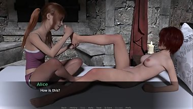 A Knight's Tale: Sexy Massage With Two Lesbians-S2E14