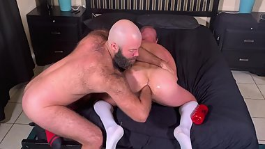 4K HD 'Pig & Snake' Pt 1 of 4 @GAGE_LENNOX Trashes and Dominates @FISTMATE hole!