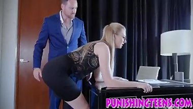 slut rides and sucks dick in bdsm hd action