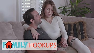 Family Hooukps - Tattooed Step-Mom Kleio Valentien Teachs Paige Owen How To Fuck Her Boyfriend