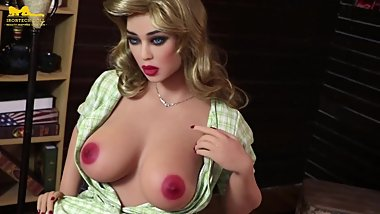 Sexy Retro Style Lady wants you to suck her Ass Best Sex Doll